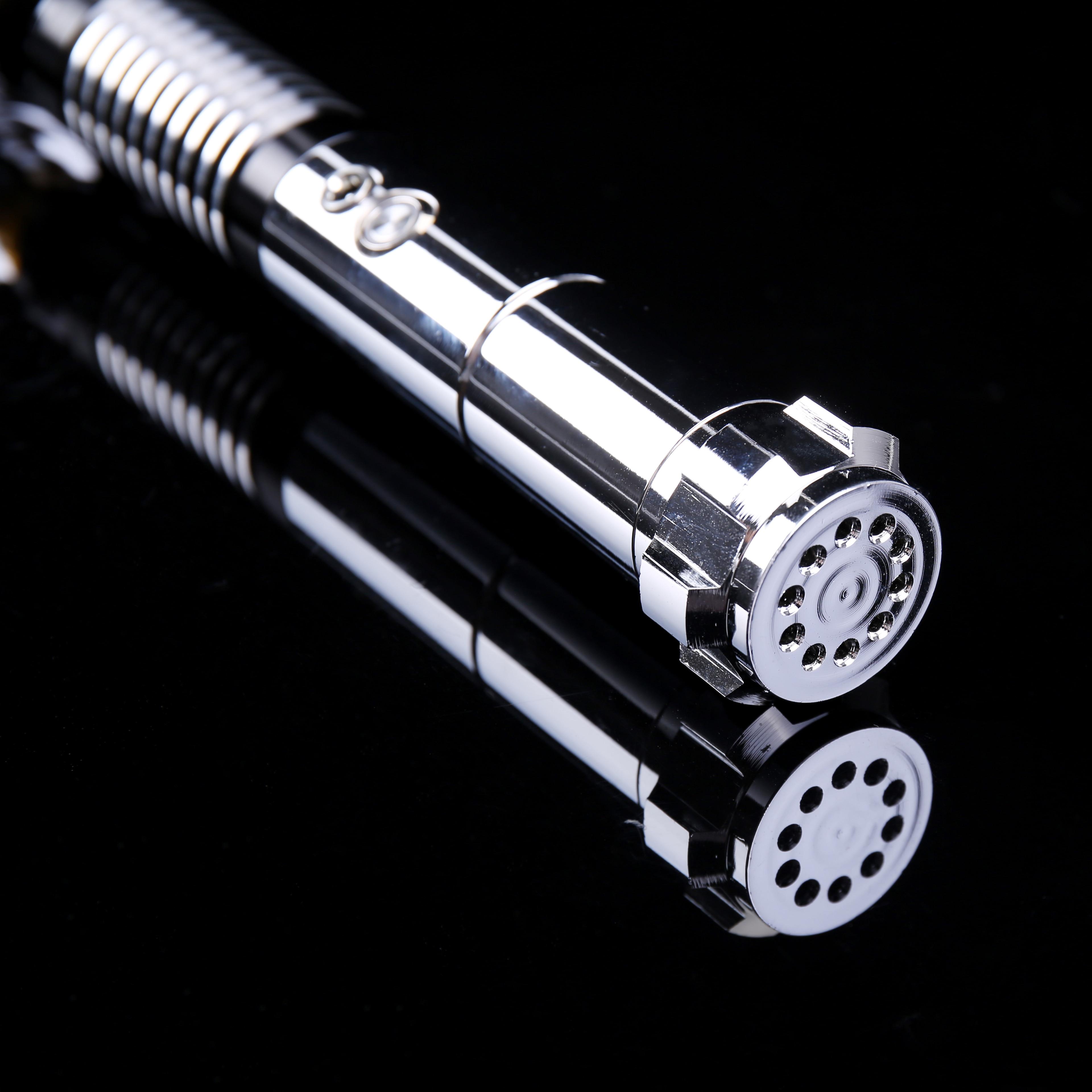 RGB Luke Lightsaber para Skywalker Sound Fonts y cambio de Color de 1 pulgada de diámetro-sólo Hilt - 4