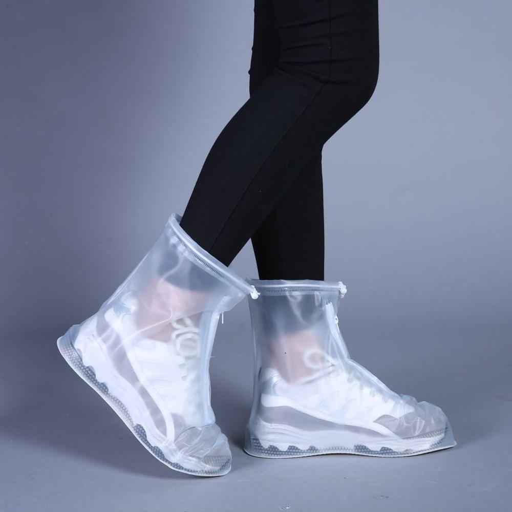 Men Women Kids Outdoor Rain Shoes Boots