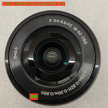 Lente oss de segunda mão e 95% 3.5 16 50 pz, lente selp1650 16 50 zoom de montagem eletrônica para sony a6300 a6000 a5100 table5000 câmera