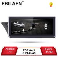 Reproductor DVD GPS para coche Audi A4L B8 A5 2009-2017 Android 7,1 2Din coche autorradio navegación Multimedia 2GB + 32GB pantalla IPS