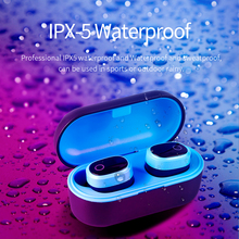 Bluetooth 5.0 Earbuds Wireless Earphone Headphones Handsfree Noise Cancellation Headset for Phone Android & IOS Gaming Sport wireless business affairs bluetooth earphones pleasant 180 degree rotating stereo music headset noise cancellation earbuds eh