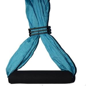 Image 4 - 20 cor força descompressão yoga hammock inversão trapézio anti gravidade tração aérea yoga ginásio cinta yoga balanço conjunto
