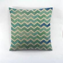 The geometric pattern print home decorative cushion cover decorate sofa cushion cover for home sofa 45x45cm