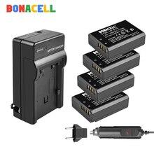 Bonacell LP-E10 LP E10 аккумулятор+ зарядное устройство для Canon Rebel T3 T5 T6 Kiss X50 Kiss X70 EOS 1100D EOS 1200D EOS 1300