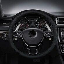 цена на 2020 2Pcs Car Steering Wheel Shift Paddle Extension Auto DSG Direct Shift Gear For VW Golf Jetta GTI MK6 R20 CC R36 Car Parts