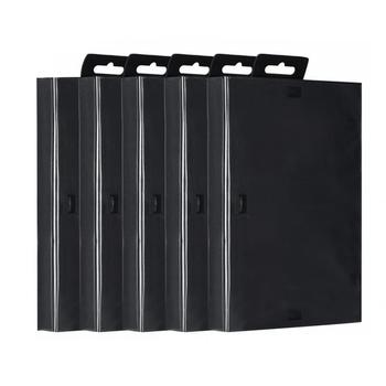 5PCS Game Case  For Sega For Genesis Game Cartridge Empty Shell Box Case Replacement Accessories