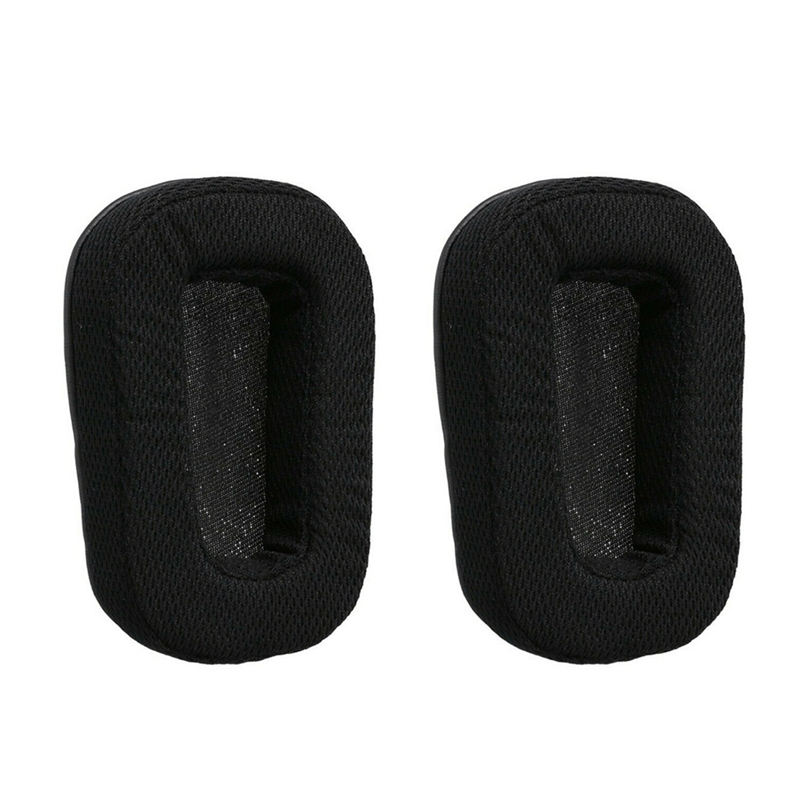 HFES 1Pair Replacement Ear Pads Cushion Earpads For Logitech G933 G633 Headphones Kit image