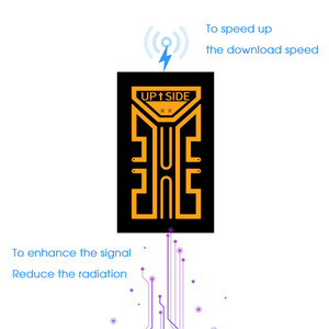 Image 3 - 2G 3G 4G Portable Phone Antenna Stickers for Camping Cell Phone Signal Enhancement Signal Amplifier Booster Easy to install
