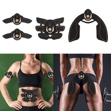 Abdominal Arm Hip Muscle Toning Stimulator Trainer Machine Wireless Fitness Exercise Workout Fat Burner Weight Loss Slim Massage(China)
