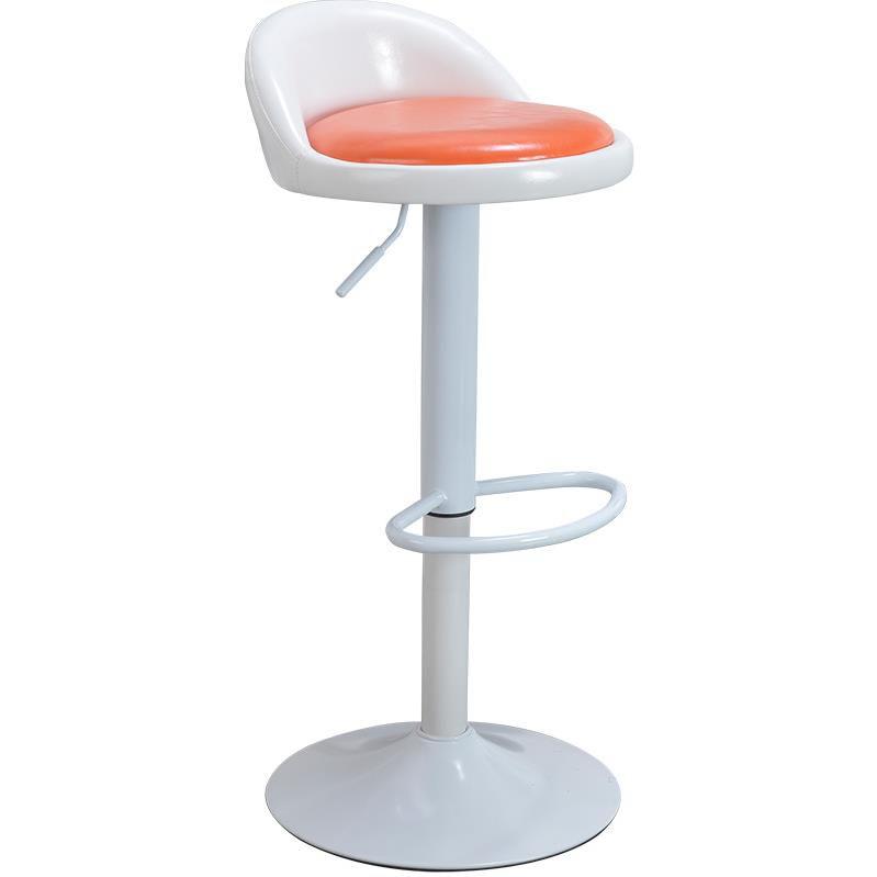 Bar Chair Lift Bar Chair Fashion Simple Household Leisure Swivel Chair High Foot Stool