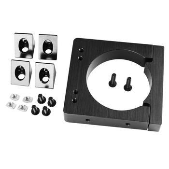 52 мм/65 мм/71 мм Алюминиевый металлический фрезерный станок набор для крепления шпинделя для ЧПУ C-BEAM гравировальный станок для 3D принтера зап...