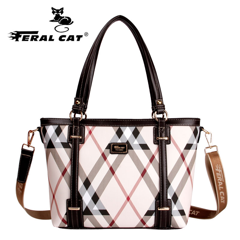 FERAL CAT2020 new European and American women's bags, shoulder bags, handbags. Women's high-end brand fashion bags. Wild bag
