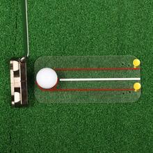 Reusable Acrylic Accuracy Consistency Training Golf Alignment Board for Golf Lover