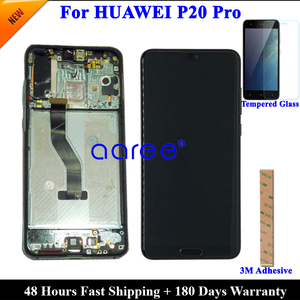 Image 1 - Tested Original Super AMOLED For HUAWEI P20 Pro LCD Display For Huawei P20 Pro  Display LCD Screen Touch Digitizer Assembly