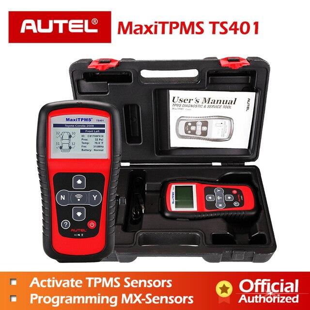 Autel TS401 tpms診断ツールid 315mhz 433 433mhzのセンサー活性化プログラミングmxセンサーmaxitpmsタイヤ圧力テスター