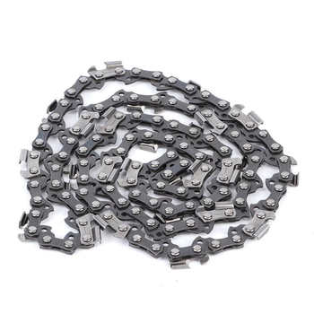 цена на Zinc Alloy Chainsaw Chain 3/8 050 56DL Chainsaw Chain Blade Replacement Garden Woodworking Tools Accessory