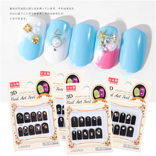 10 Designs Rivet 3D Nail Sticker Pearl Jewelry Crystal Stones Design For Nails Sliders Tips Manicure DIY Decoration 3d nail art fimo soft polymer clay fruit slices cartoon for nail manicure sticker cell phones diy designs wheel decoration czp35