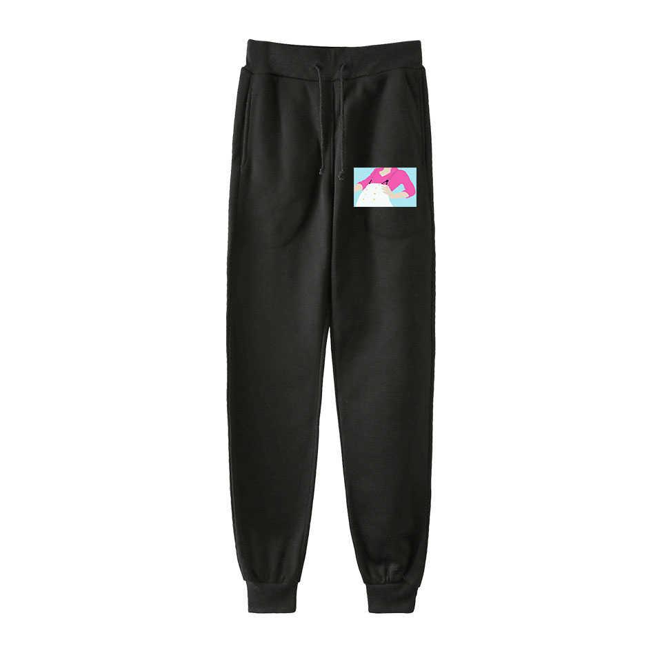 Novel Harry Styles Pants Women Men Unisex Streetwear Fleece Sweatpant Clothes Harajuku Fine Line Panties Plus Size Outwear