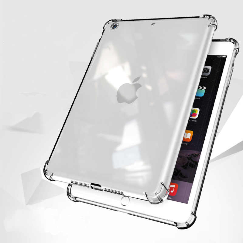 Shockproof Case For New iPad Pro 10.5 Air 2 9.7 2017 2018 Mini 4 2 3 Back Case Soft TPU Cover for iPad Air 1 Pro 10.5 Mini 2 3 4