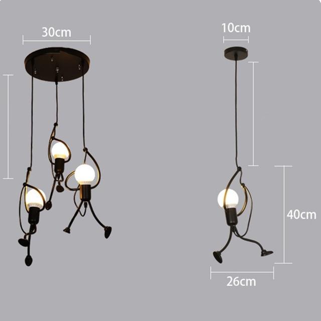 Купить светодиодный подвесной светильник в стиле ретро с глянцевым картинки цена