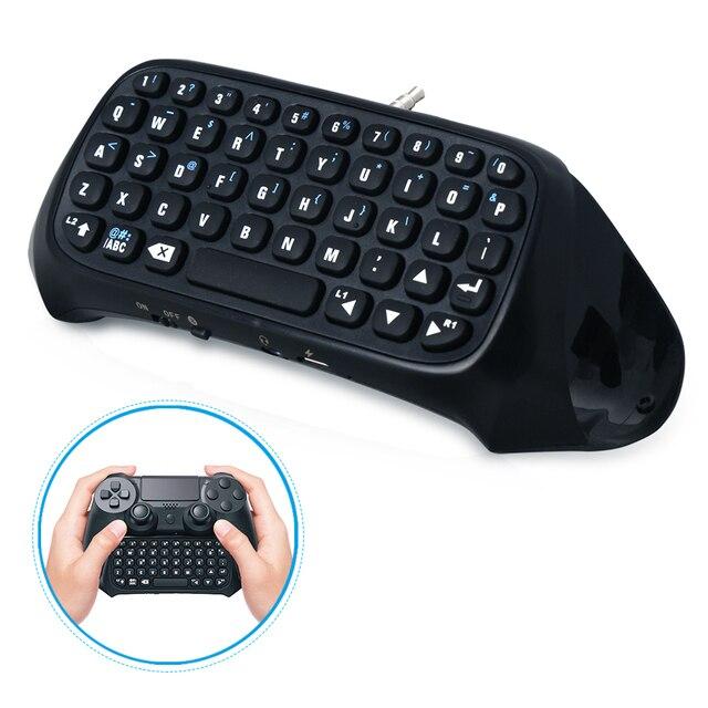 DOBE بلوتوث لوحة المفاتيح لوحة المفاتيح لسوني بلاي ستيشن 4 Mini Btv اللاسلكية لوحة المفاتيح عصا التحكم غمبد ل PS4 تحكم الملحقات