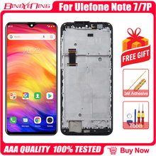 100% Original For Ulefone Note 7P/Note 7 LCD&Touch screen Digitizer with frame display Screen module accessories Replacement
