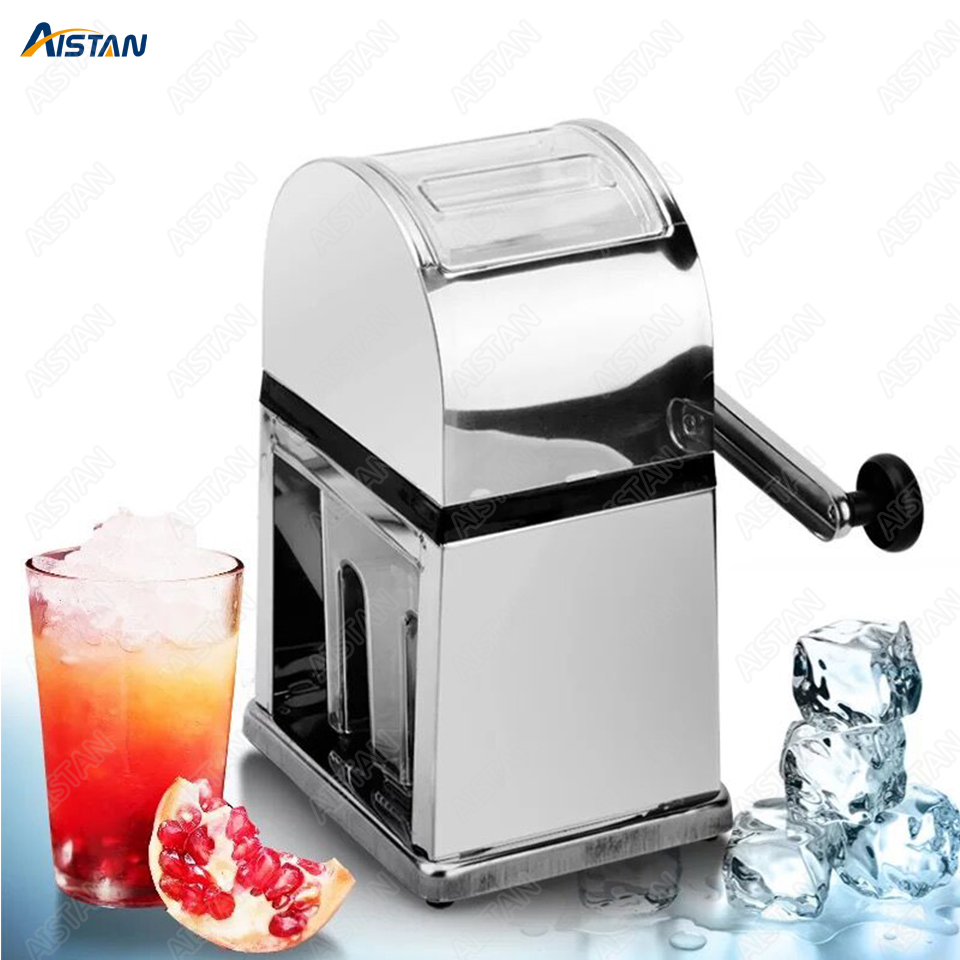 MO125 Manual Ice Crusher Ice Block Breaking grinder Machine 2