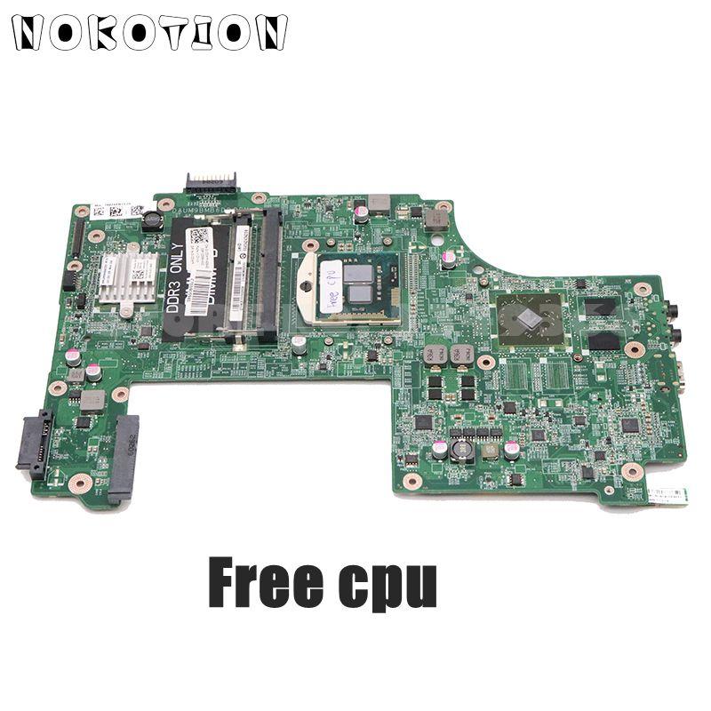 Mãe do Portátil para Dell Nokotion Placa Inspiron 17r N7010 Principal Daum9bmb6d0 Hd5470m Gpu Cpu Livre Cn-0v20wm 0v20wm