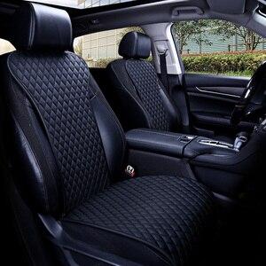 Image 1 - קל נקי לא מהלכי רכב מושב כריות, אוניברסלי עור מפוצל ללא שקופיות עמיד למים מושבי כיסוי מתאים לlada Granta E1 X36
