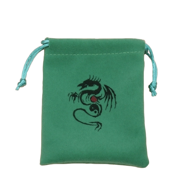 10pc Portable Velvet Flocking Drawstring Pouch Coin Jewelry Wedding Gift Bag New