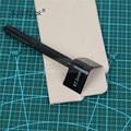 R7.5 radius 7 5mm BateRpak hand leder ecke trimmer  DIY Leder Gürtel ende cutter  1 stücke preis-in Messer aus Werkzeug bei