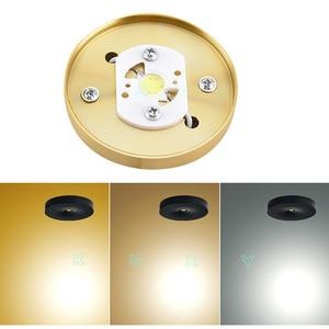 Image 3 - Bề Mặt Gắn Đèn LED Âm Trần Downlight 3W 5W 7W 220V Ốp Trần Đèn Siêu Mỏng Driverless Đèn LED Đèn sách Giá Để Chiếu Sáng