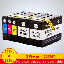 SZX do wkładów atramentowych HP932XL 933XL wkłady atramentowe Officejet 6100 wkłady atramentowe Officejet 6600 wkłady atramentowe Officejet 6700 tanie tanio NoEnName_Null CN (pochodzenie) Pełna For HP 932xl 933xl ink cartridge Kompatybilny Wkład atramentowy HP Inkjet For HP932XL For HP933XL