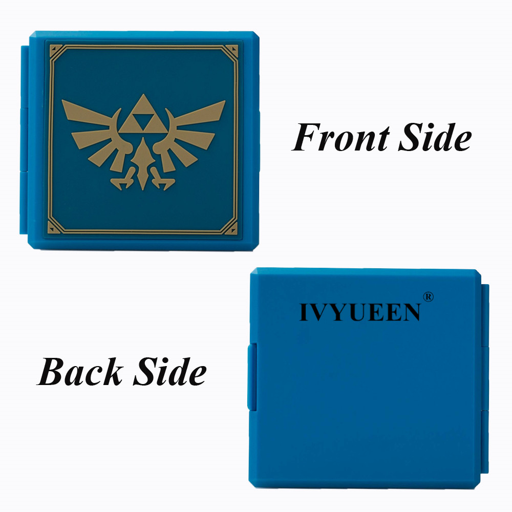 cheapest IVYUEEN 17 Colors for NintendoSwitch Lite NS Premium Game Cards Storage Case Protective Cover Hard Shell Box Gaming Accessories