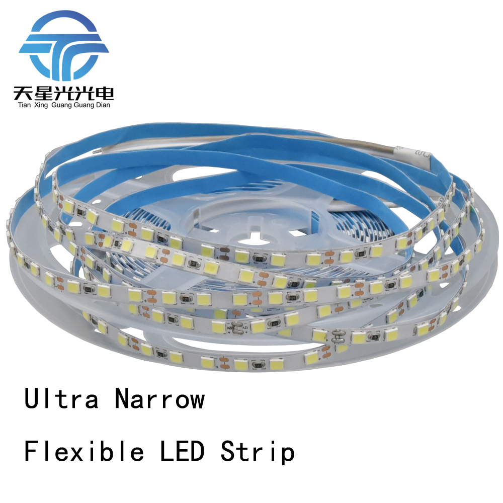 <font><b>LED</b></font> Strip <font><b>4mm</b></font> Width 5M 2835 <font><b>LED</b></font> Tape 600 <font><b>SMD</b></font> 12V Flexible120 <font><b>Led</b></font> White Warm White Blue Green Red Yellow image