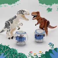 Jurassic Dinosaurier Spielzeug Tyrannosaurier Pterosauria Triceratop Indominus Rex Kompatibel legoed Action Figur Bausteine Ziegel