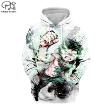 PLstar Cosmos My Hero Academia Anime Harajuku Tracksuit 3D Print Hoodie/Sweatshirt/Jacket/shirts Men Women hiphop casual style-5 футболка print bar my style