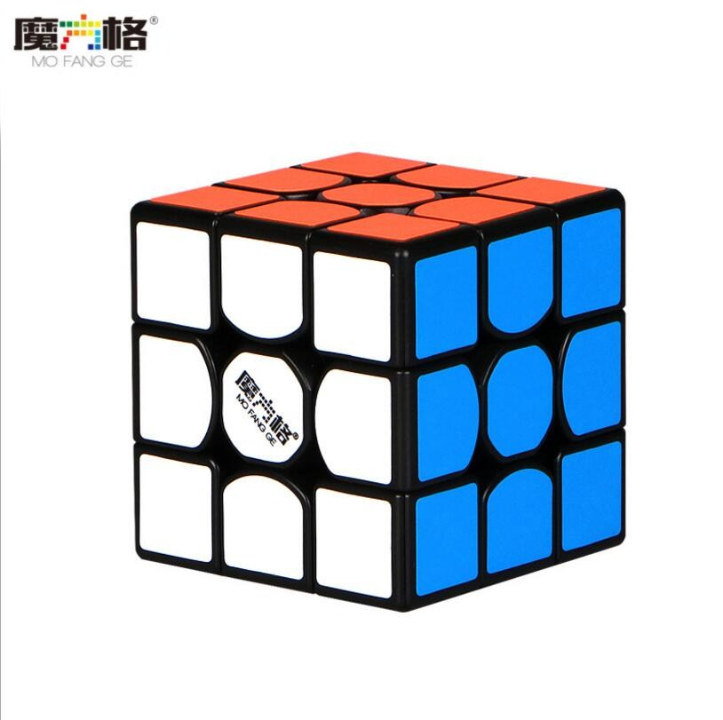 New QiYi MoFangGe Thunderclap V3 M 3x3x3 Magnetic Magic Cube Stickerless Puzzles Cube Professional Magnets Speed Cubo Magico 3x3
