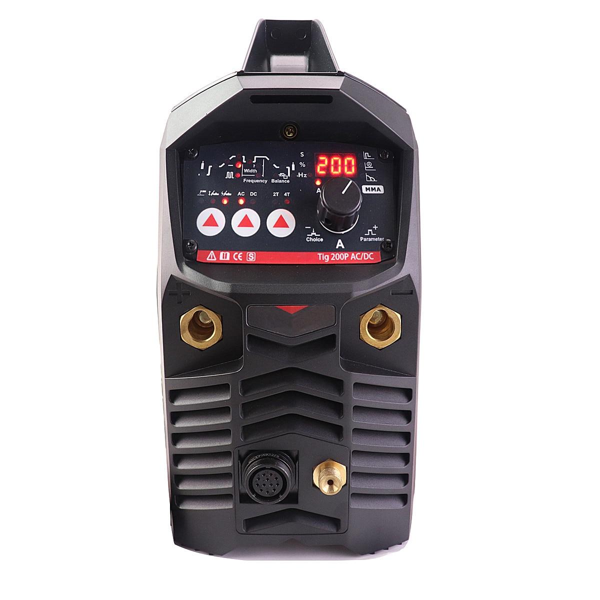 Digital Approved 200A Machine TIG TIG Welding Machine AC DC Professional ACDC Pulse Aluminium TIG Welder CE Welding Pulse MMA