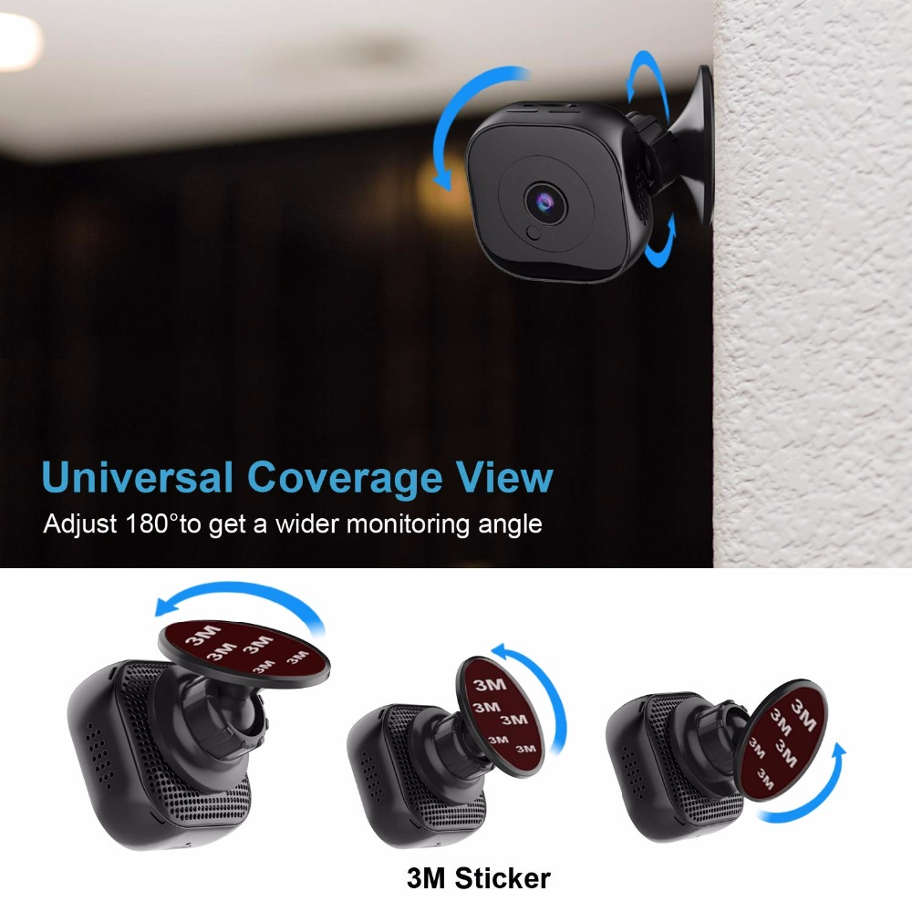 Hd 1080P Wifi Mini Camera Infrarood Night Versie Micro Camera Dvr Afstandsbediening Motion Sensor Cam Video Recorder Secret cam 5