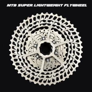 Image 1 - Mtb バイク SLR2 カセット超軽量 10 11 12 速度 42/46/50 t cnc バイクフリーホイール 10s 11s 12s フライホイール K7 スプロケット hg システム
