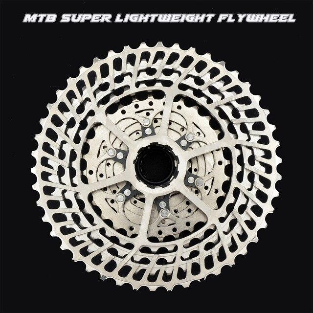 Mtb バイク SLR2 カセット超軽量 10 11 12 速度 42/46/50 t cnc バイクフリーホイール 10s 11s 12s フライホイール K7 スプロケット hg システム