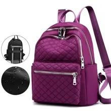 Women Backpack Rucksack Shoulder-Bags Youth Travel Large-Capacity Waterproof Lady Bag
