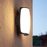 Applique extérieure étanche lampe de jardin LED allée couloir balcon extérieur porche lumière lampe de terrasse|Mur Lampes| |  -