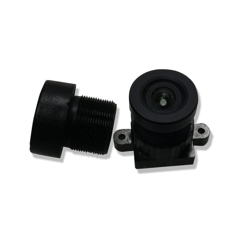 HD 16MP 2.85mm130 degree lens with low distortion cctv camera lens <font><b>M12</b></font> 4K lens for different sport camera with factory price image