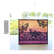 JC Rectangular Lace Strip Metal Cutting Dies for Scrapbooking Craft Mold Cut Die Stencil Handmade Tool Card Make Template Model