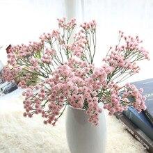 Сушеные цветы сушеные Гипсофилы декоры Натуральные сушеные цветы Букеты детские дышащие Цветочные Свадебные букеты вечерние L0603