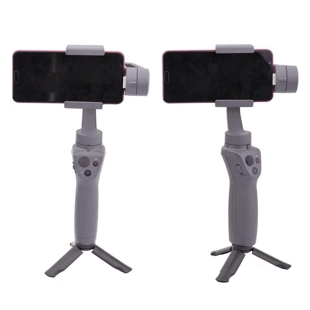 נייד מיני חצובה עבור DJI אוסמו נייד 2 כף יד Gimbal מייצב מחזיק לעמוד Gopro FeiYu Zhiyun חלק 4 DSLR מצלמה