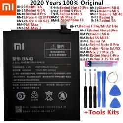 Original XiaoMi Replacement Battery For Xiaomi Mi Redmi Note Mix 2 3 3S 3X 4 4X 4A 4C 5 5A 5S 5X M5 6 6A 7 8 Pro Plus batteries