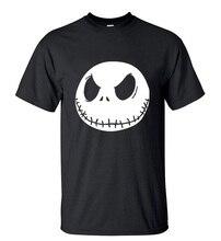 Nightmare Before Christmas T Shirt Cartoon Jack Sk